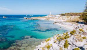 A view of Rottnest Island, Western Australia